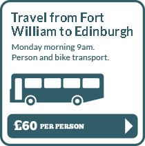 Fort William to Edinburgh Transport