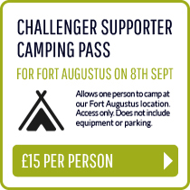 Challenger Supporter Camping Pass (Fort Augustus - 8th Sept)