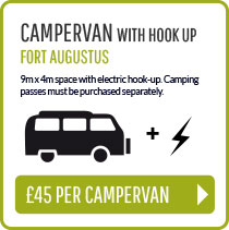 Campervan with hookup