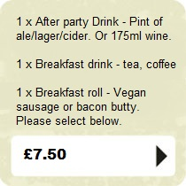 Booze + Breakfast Package
