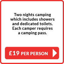 £19 Camping Two Night EarlyBird