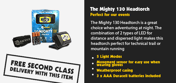 The Mighty 130 Headtorch
