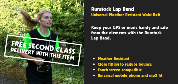 Lap Band - Weather Resistant Universal Mobile/MP3 Waistband