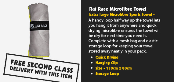 Rat Race Microfibre Towel