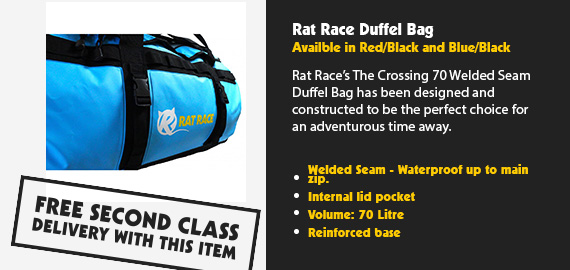 Rat Race Duffel Bag-70 Litres
