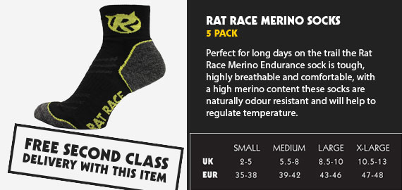 Endurance Merino Sock 5 Pack