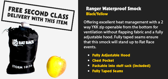 Ranger Smock - Black/Yellow