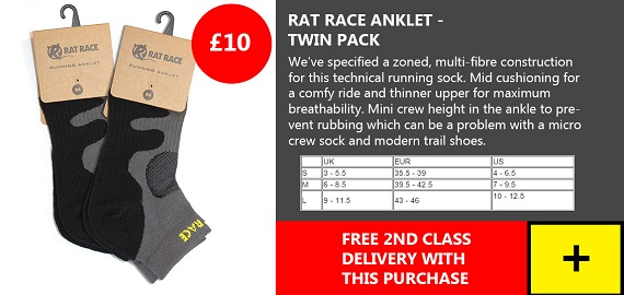 Rat Race Sock - Twin Pack
