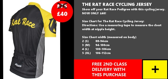 Rat Race Cycle Jersey