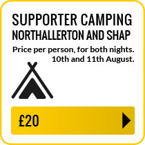 Shap and Northallerton supporter overnight and camping per person