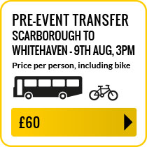 Bus travel from Scarborough to Whitehaven Thursday 9th August