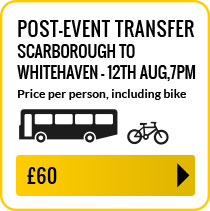 Bus travel from Scarborough to Whitehaven Sunday 12th August