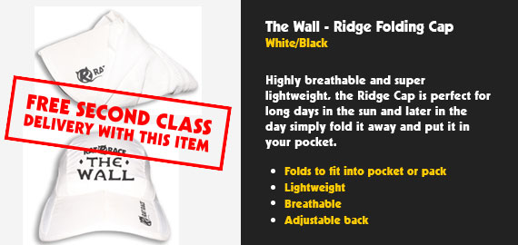 The Wall - Ridge Cap - White