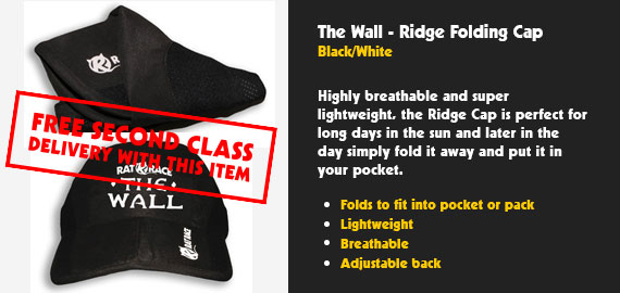 The Wall - Ridge Cap - Black